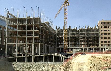 Crece el sector de la construcción en España gracias a las exportaciones